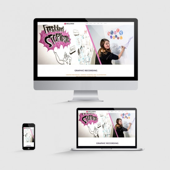 pepadesign Anne Lehman responsive Website