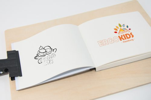 pepadesign | Ergo Kids Graphic Design Logo