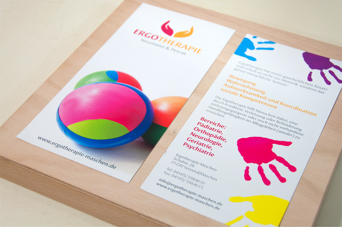 pepadesign | Ergotherapie Flyer Design