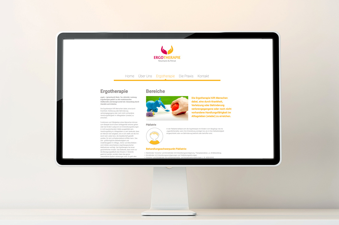 pepadesign | Ergotherapie Website