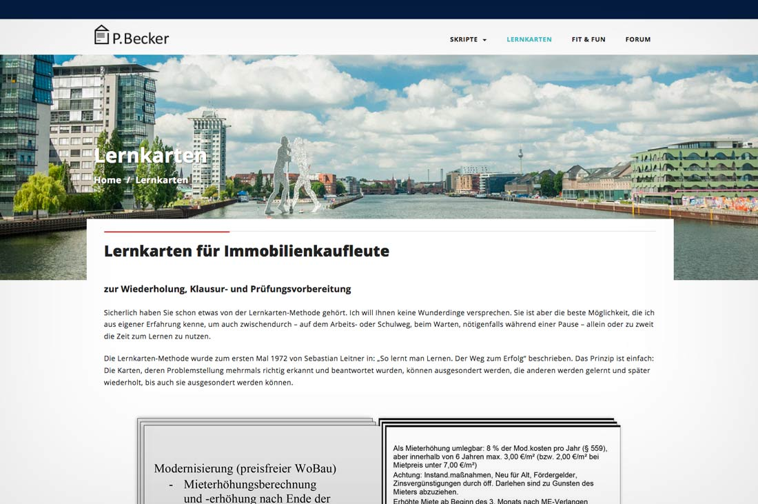 pepadesign | Peter Becker Responsive Website