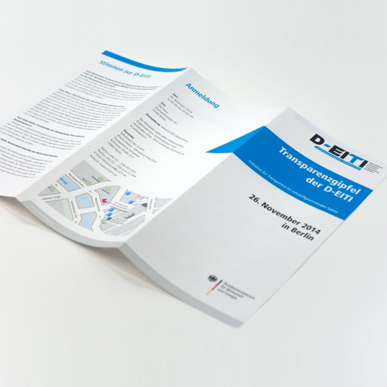 pepadesign D-EITI Flyer Design